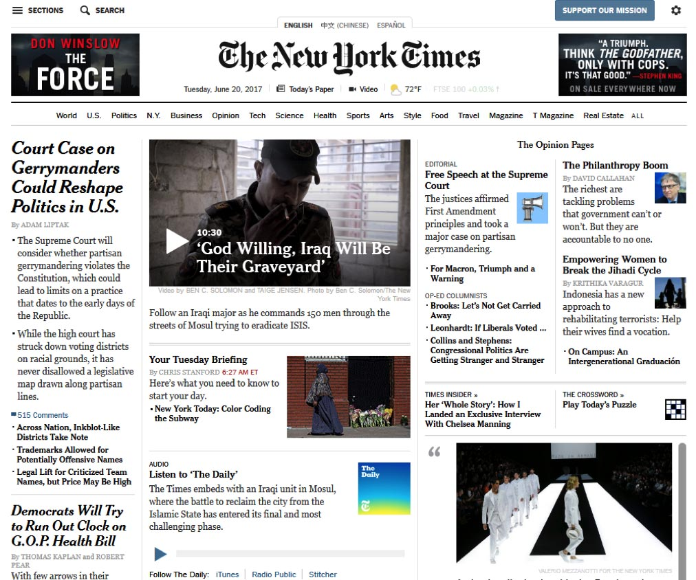 Don Winslow - The Force - New York Times - Homepage