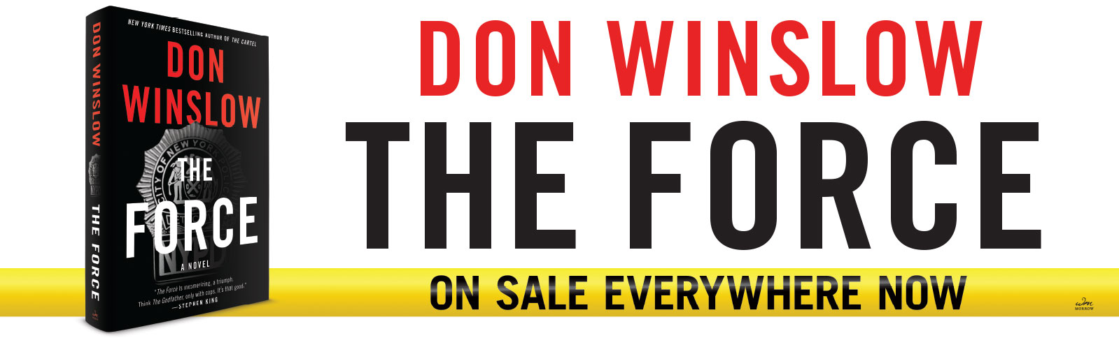 Don Winslow - The Force - W4th Station Poster