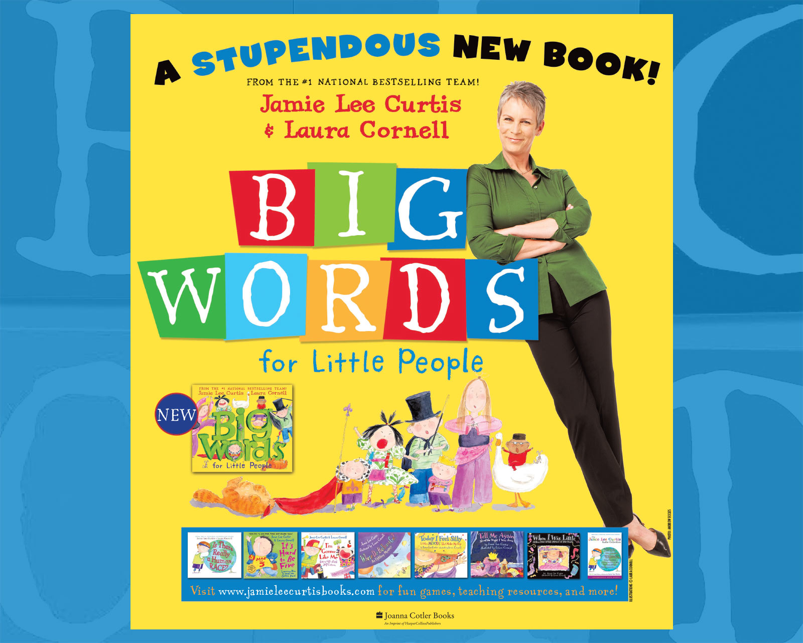 Jamie Lee Curtis - Big Words for Little People - New York Times Book Review