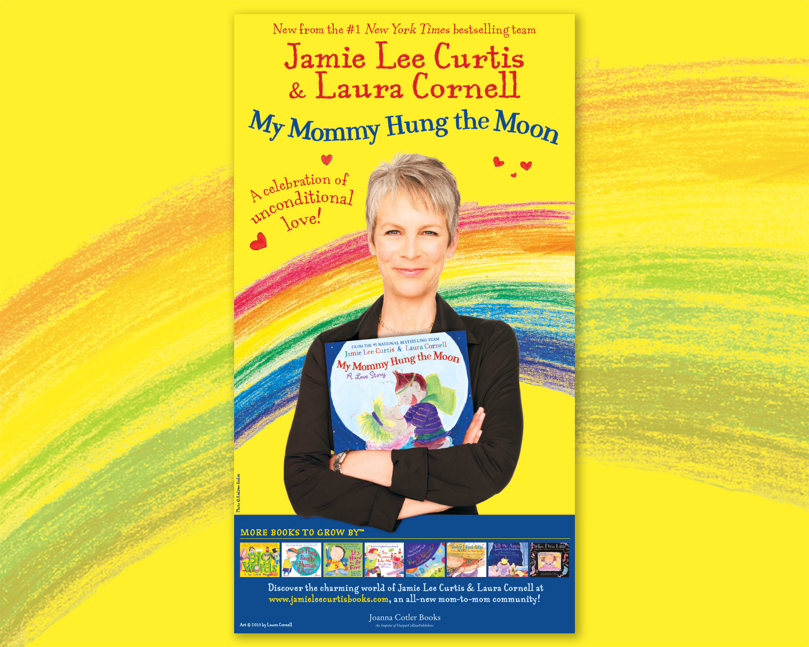 Jamie Lee Curtis - My Mommy Hung The Moon - New York Times