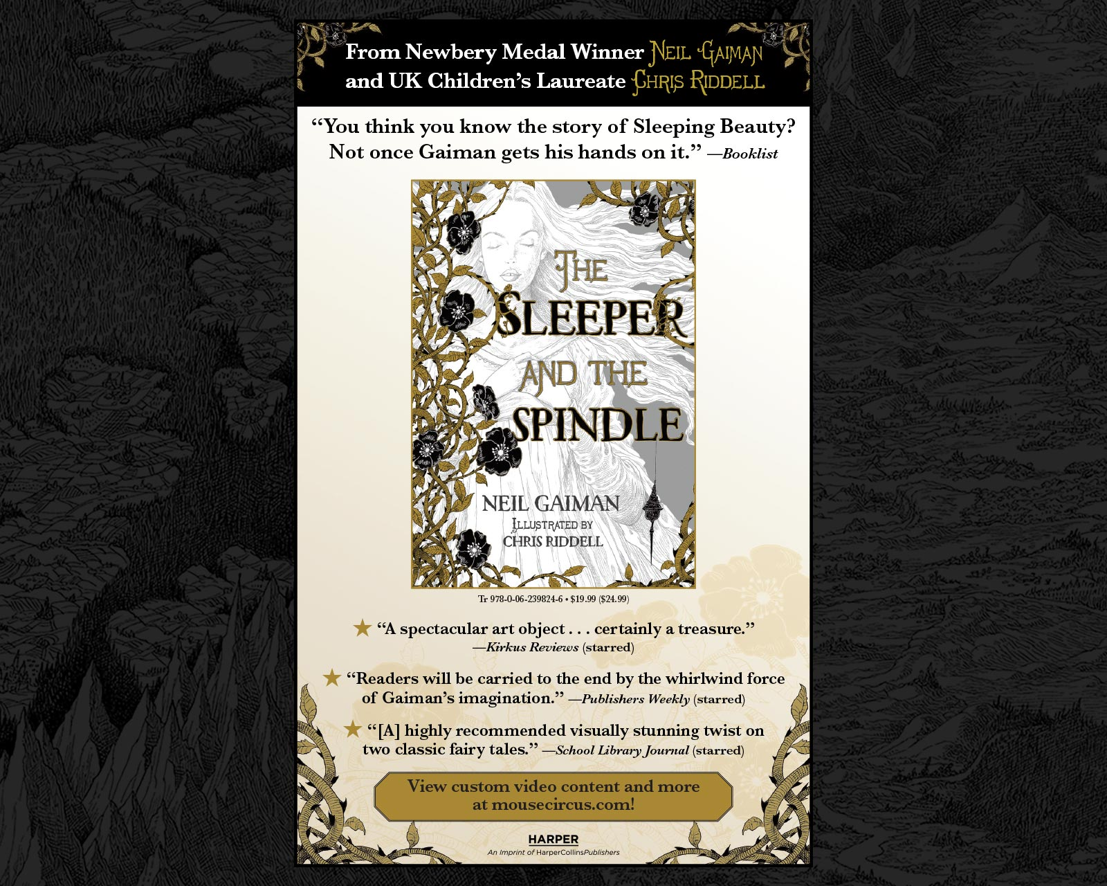 Neil Gaiman - The Sleeper and the Spindle - SLJ
