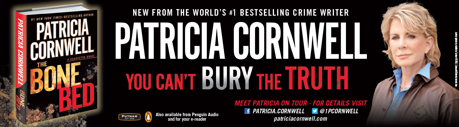 Patricia Cornwell - The Bone Bed - USA Today