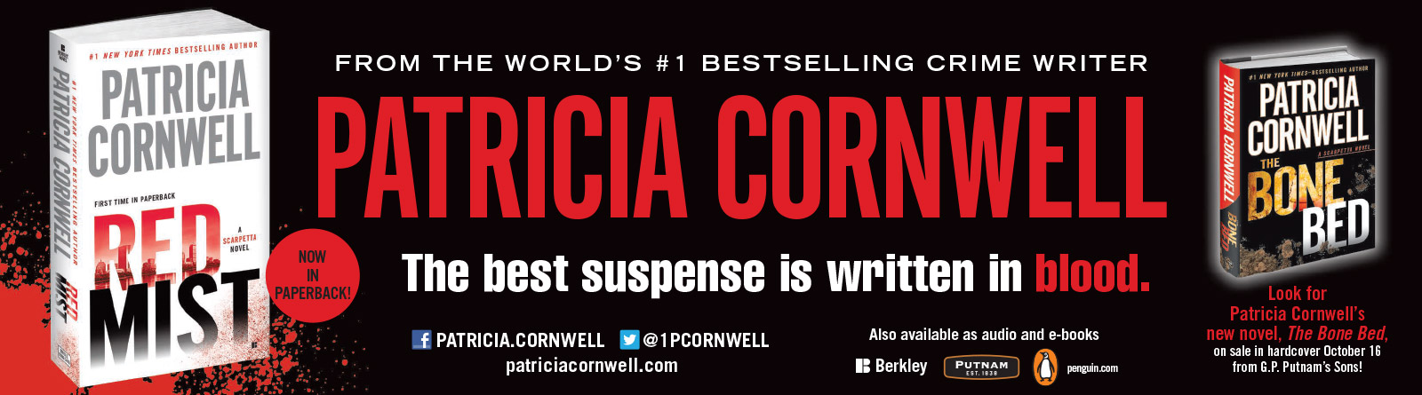 Patricia Cornwell - Red Mist - USA Today