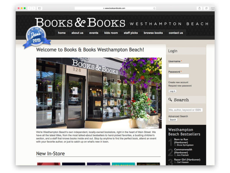 Books & Books Westhampton Beach