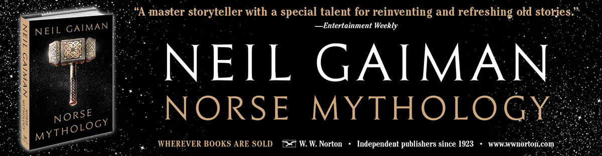 Neil Gaiman - Norse Mythology - New York Times