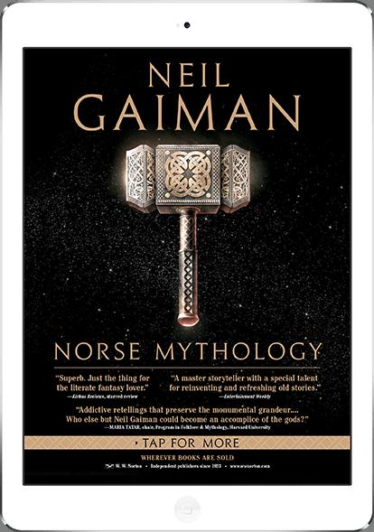 Neil Gaiman - Norse Mythology - New Yorker iPad