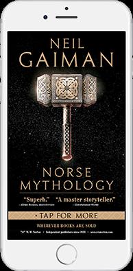 Neil Gaiman - Norse Mythology - New Yorker iPhone