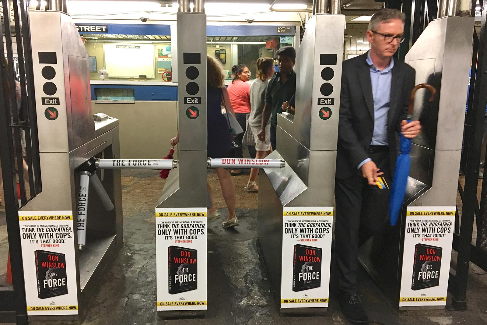 Don Winslow - The Force - W4th Station - Turnstiles