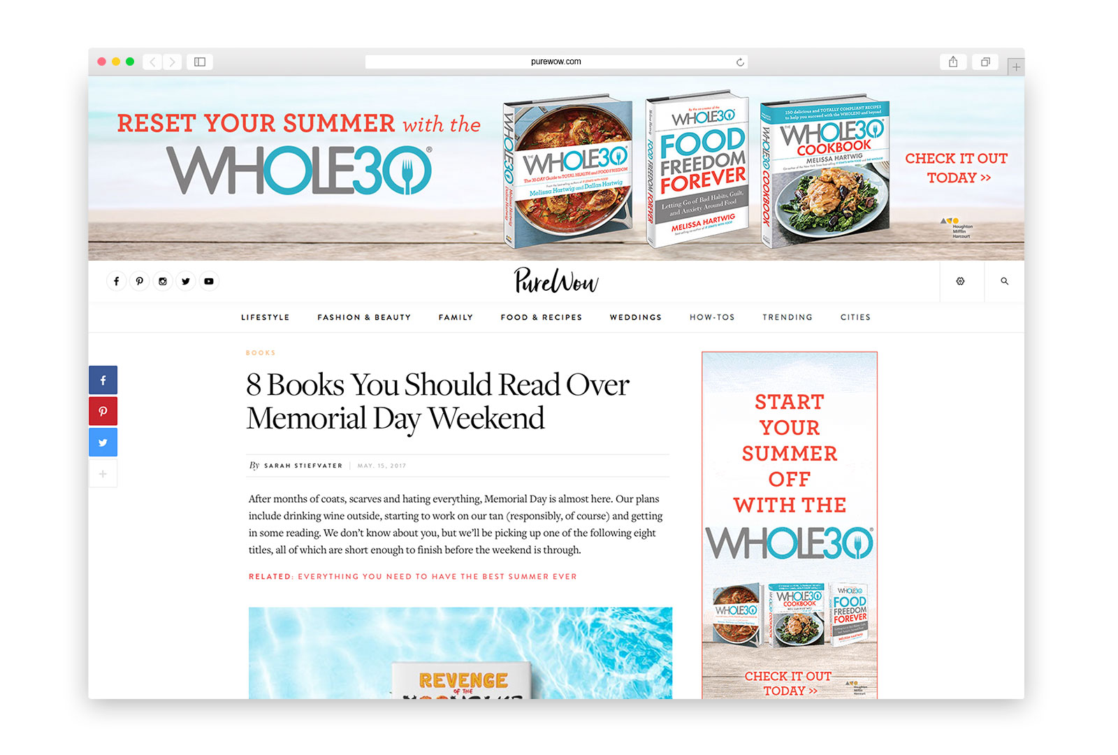 The Whole30 - Summer - Purewow.com