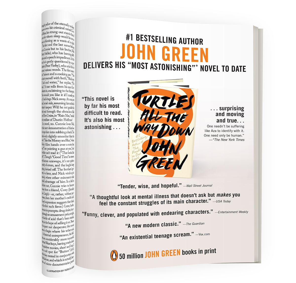 Turtles All the Way Down - John Green - New Yorker magazine